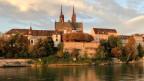 Pfalz vom Kleinbasel aus gesehen