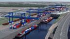 Das Hafenbecken 3 ist unter anderem aus Naturschutzgründen umstritten