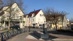 Menschenleere Strassen in Hegenheim