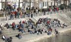 So viele Menschen dürfen nicht mehr ans Rheinbord