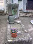Alberto Giacometti's Grab in Bregaglia