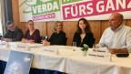 Drei Frauen und zwei Männer kandidieren bei den Grünen.