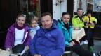 Russische Touristen in Zermatt