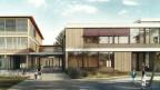Visualisierung Schulhaus Riedmatt.