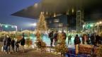 Weihnachtsstimmung vor dem KKL Luzern