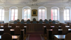 Der Ratssaal des Obwaldner Kantonsparlaments.