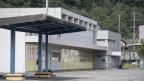 Eingangsbereich des Areals Wintersried in Seewen SZ. Der Bund will hier ein Zentrum für Asylbewerber einrichten.