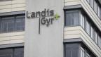 Ansicht des Firmengebäudes von Landis + Gyr.