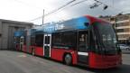 Die VBL testen einen Elektrobus aus Bern.