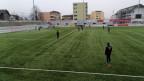 Training des FC Luzern auf dem Fussballplatz Kleinfeld in Kriens.