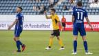 Spieler des FC Luzern auf dem Fuusballplatz