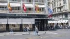 Ein Uhrengeschäft von Bucherer in Luzern