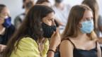 Auch im Kanton Luzern müssen Jugendliche der nachobligatorischen Schulen eine Maske tragen.