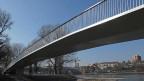 Der Birskopfsteg verbindet Birsfelden mit Basel