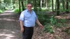 Max Schärer, Gemeindeammann von Murgenthal, möchte hier keine Verbotstafel hinstellen