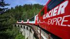Im Touristenzug «Glacier Express» fahren jetzt Zugbegleiter mit, die speziell für die indische Kultur geschult sind.