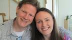 Total verliebt: Die Pfarrersleute Christian Vogt und Nathalie Büchel aus Veltheim.