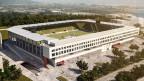 So soll es aussehen - das neue Fussballstadion für den FC Schaffhausen