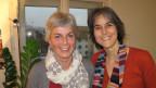Karin Ottiger (links) und Regula Grünenfelder (rechts): Sie haben sich für das Wohl der Asylsuchenden im Eigenthal LU eingesetzt.