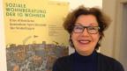 Anne Burri von der IG Wohnen hilft in Basel bei der Wohnungssuche.