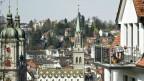 Auf dem Balkon liegen macht in St. Gallen derzeit keine Freude. Es stinkt in der ganzen Stadt nach Fisch.