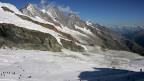 Der Feegletscher: Das Sommerskigebiet oberhalb von Saas Fee.