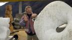 Der Leiter der Bildhauerschule in Peccia, Alex Naef, hat Grosses vor.