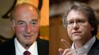 Im Kampf gegen Marc Rich (links) konnten sich die Links-Grünen mit als Nationalrat Jo Lang profilieren.