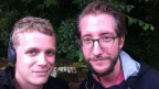 Rouven Gueissaz (rts) und Thomas Gutersohn (SRF)