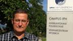 Ferdinand Frehner ist bei der Interkantzonalen Polizeischule in Hitzkirch zuständig für die Ausbildung