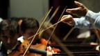Hier braucht's Taktgefühl und Präzision: in Baden/AG messen sich die besten Nachwuchs-Dirigenten.