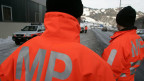 Baselland: die Armeepolizei auf Streife.