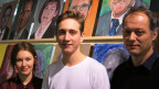 Kreative Aktion gegen Sparpaket der Berner Regierung: Schüler und Lehrer der Schule für Gestaltung in Biel