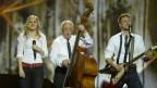 Emil Ramsauer stand mit dem Kontrabass auf der grossen Bühne des Eurovision Song Contests in Malmö