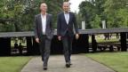 Die Stararchitekten Jacques Herzog (links) and Pierre de Meuron (rechts) versprechen der Stadt Basel «interessante Veränderungen».