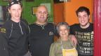 Familie D'Agnano mit Koch führt das Restaurant