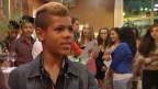 """Dimitri Cissé (13) im zugehörigen Projekt-Film """"Ich bin mehr"""" von der JuAr (Jugendarbeit) Basel an seiner Abschlussfeier."""