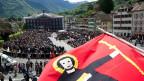 Glarner Landsgemeinde: direkte Demokratie in der Schweiz.