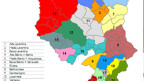 Erst verschwommen sichtbar: die künftig 23 Grossgemeinden im Tessin.