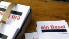 «Ein Basel» fordern die Fusionsbefürworter - im Baselbiet weht ihnen ein kräftiger Wind entgegen.