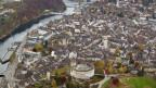 Die Stadt Schaffhausen mit der bekannten Munot-Festung.