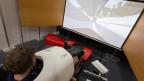 Ein Bob-Simulator im Sportzentrum Tenero: mit Hightech im Sport sollen neue Ingenieure geworben werden.