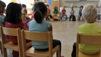 In jedem 5. Kindergarten im Matthäus-Quartier betreut ein Mann die Kinder.
