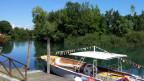 Die «Barca» steht bereit: Mit ihr sollen Touristen nach Mailand reisen.