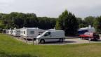 Der Durchgangsplatz für Fahrende im Aarauer Schachen.