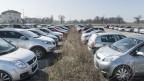 Parkhäuser in Frankriech für Grenzgänger.
