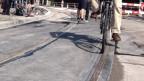 Die «Velos-sichere-Tramschiene»: die Stadt Zürich hat den Versuch wieder abgebrochen.