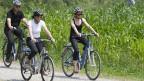 Die E-Bikes sind im Trend: sie kamen auch schon auf einem Bundesrats-Reisli zum Einsatz.