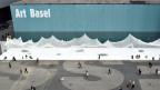 Messeplatz in Basel: Hier hätte die Performance stattfinden sollen