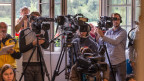 Das Interesse der Medien nach dem Zugsunglück in Graubünden war riesig - auch in Japan.